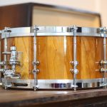 Cherry_french_polish_Midmill_Drums_1